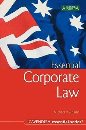 Cover of Essential Corporate Law