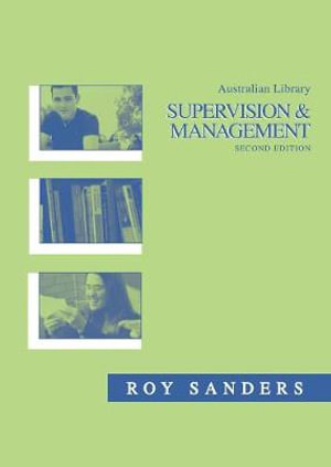 Cover of Australian Library Supervision and Management