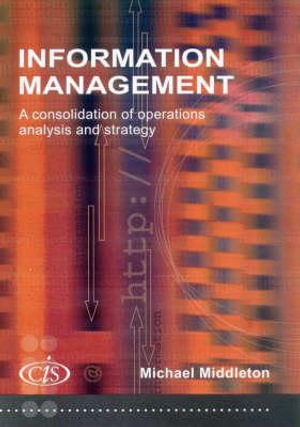 Cover of Information Management