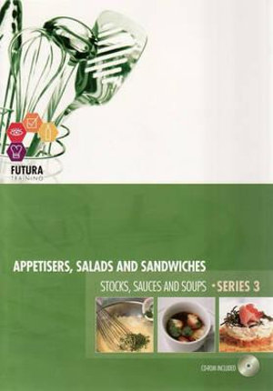 Cover of Appetisers, Salads and Sandwiches