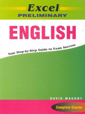 Cover of Excel Prelim English Study Guide Yr 11