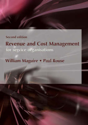 Cover of Revenue and Cost Management for Service Organisations