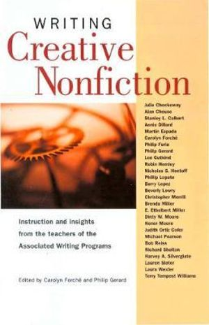 Cover of Writing Creative Nonfiction