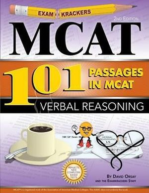 Cover of Examkrackers MCAT101 Passages in MCAT Verbal Reasoning