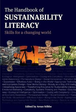 Cover of The handbook of sustainability literacy