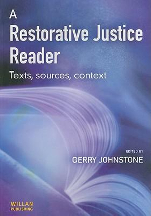 Cover of A Restorative Justice Reader