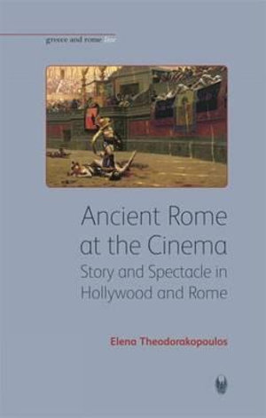Cover of Ancient Rome at the Cinema