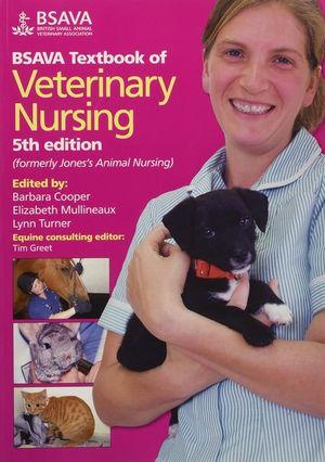 Cover of BSAVA Textbook of Veterinary Nursing 5E