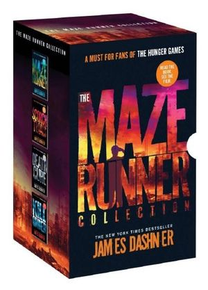 Cover of The Maze Runner Collection