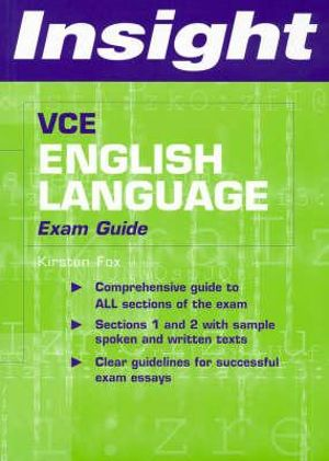 Cover of VCE English Language