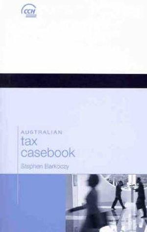 Cover of Australian Tax Casebook