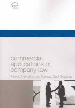 Cover of Commercial Applications of Company Law