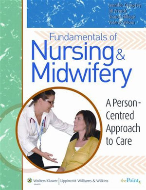 Cover of Fundamentals of Nursing and Midwifery ANZ edition