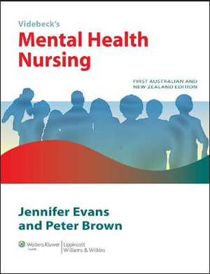 Cover of Mental Health Nursing Australia and New Zealand edition