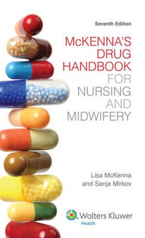 Cover of Mckenna's Drug Handbook for Nursing and Midwifery