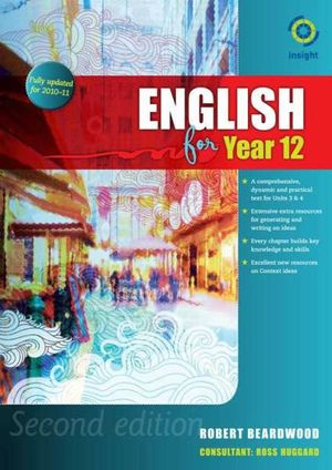 Cover of English for Year 12