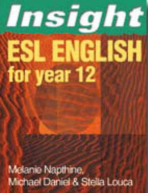 Cover of ESL English for Year Twelve
