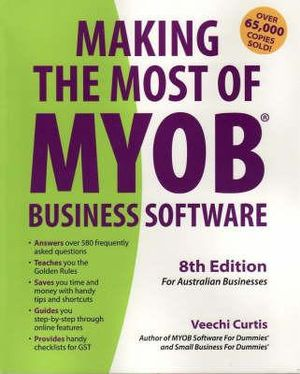 Cover of Making the Most of MYOB Business Software