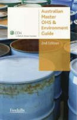 Cover of Australian Master OHS and Environment Guide