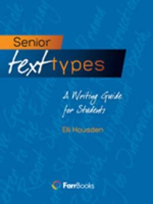 Cover of Senior Text Types