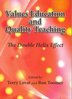 Cover of Values education and quality teaching