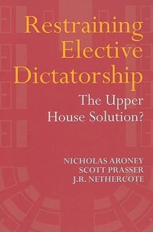 Cover of Restraining Elective Dictatorship