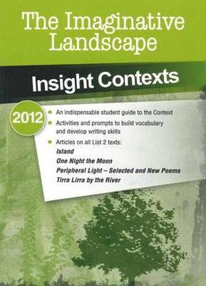 Cover of The Imaginative Landscape 2012