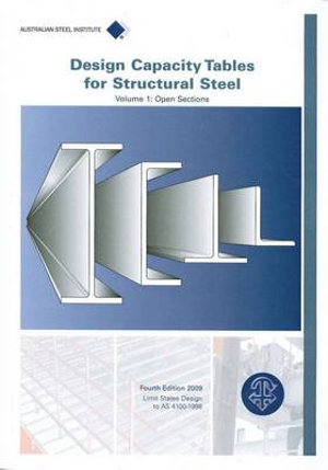 Cover of Design Capacity Tables for Structural Steel