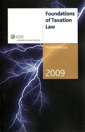 Cover of Foundations of Taxation Law