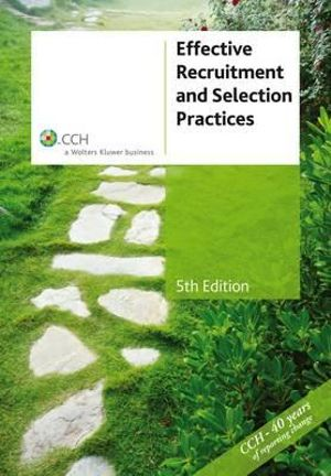 Cover of Effective Recruitment and Selection Practices, 5th Edition
