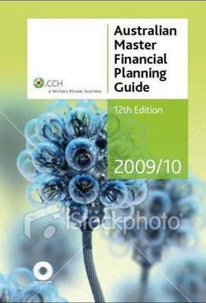 Cover of Australian Master Financial Planning Guide 2009/10