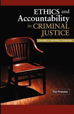 Cover of Ethics and Accountability in Criminal Justice