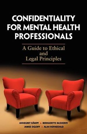 Cover of Confidentiality for Mental Health Professionals