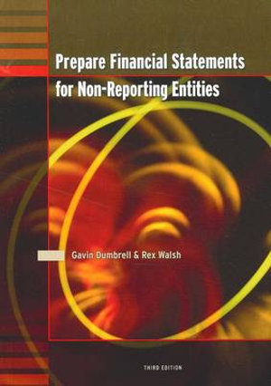 Cover of Prepare Financial Statements for Non-reporting Entities