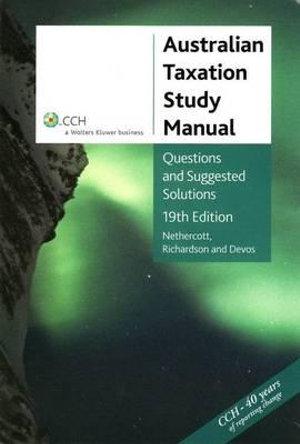 Cover of Australian Taxation Study Manual