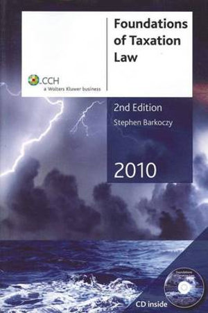 Cover of Foundations of Taxation Law 2010 - 2nd Edition
