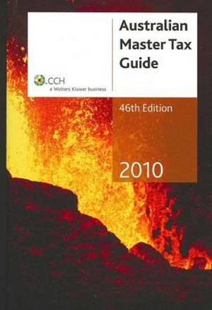 Cover of Australian Master Tax Guide 2010