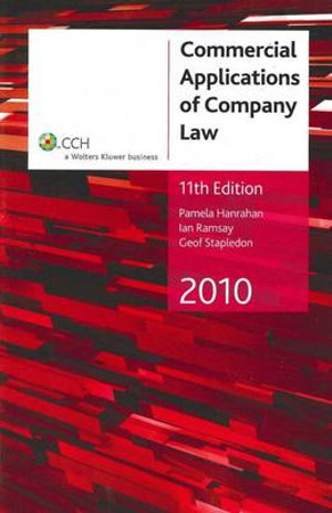 Cover of Commercial Applications of Company Law 2010 - 11th Edition