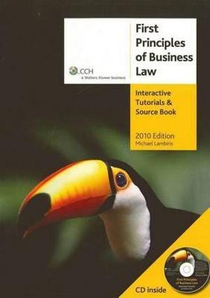 Cover of First Principles of Business Law