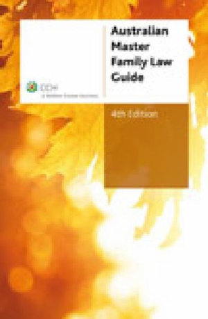 Cover of Australian Master Family Law Guide
