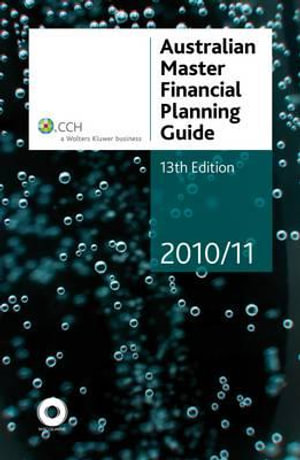 Cover of Australian Master Financial Planning Guide 2010/11