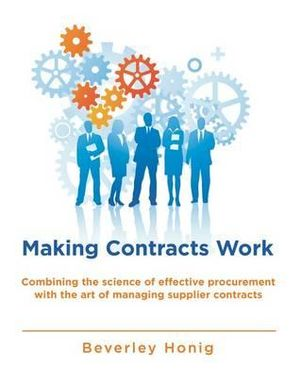 Cover of Making Commercial Contracts Work