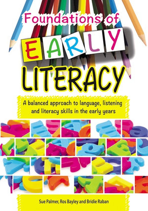 Cover of Foundations of Early Literacy