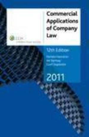 Cover of Commercial Applications of Company Law 2011 - 12th Edition