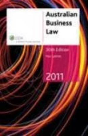 Cover of Australian Business Law 2011 - 30th Edition