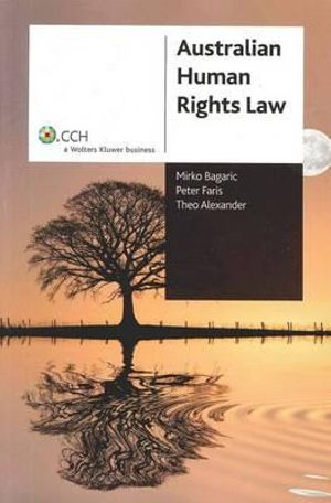 Cover of Australian Human Rights Law