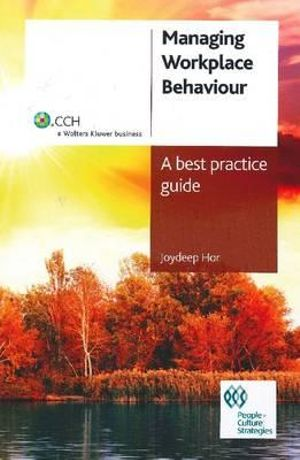 Cover of Managing Workplace Behaviour
