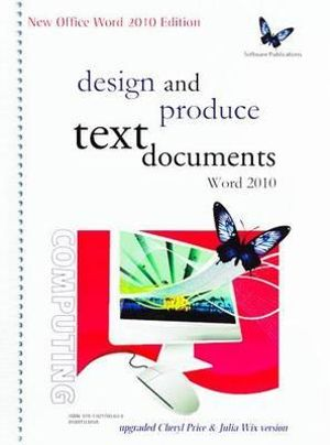 Cover of Design and Produce Text Documents