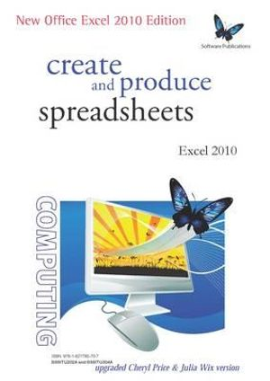 Cover of Create and Produce Spreadsheets