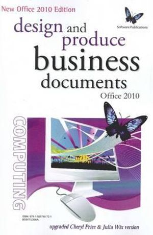 Cover of Design and Produce Business Documents